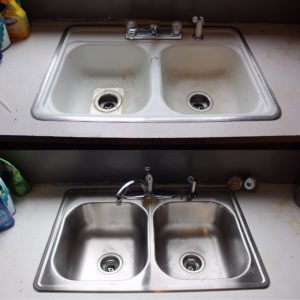 Fixtures before/after